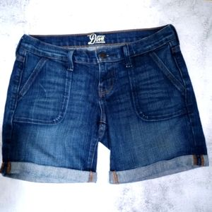 Old Navy Demin Shorts with cuffed hem.